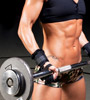 Heavy weights will make you look bulky